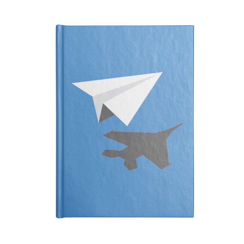 PAPERPLANE FIGHTER Accessories Notebook by ALGS's Artist Shop