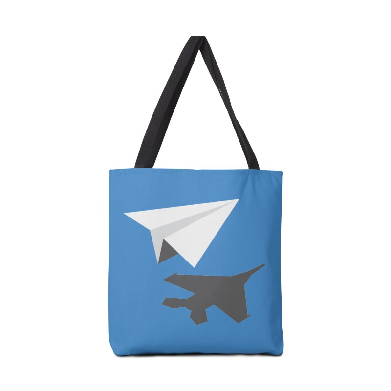PAPERPLANE FIGHTER Accessories Tote Bag Bag by ALGS's Artist Shop