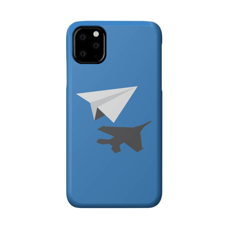 PAPERPLANE FIGHTER Accessories Phone Case by ALGS's Artist Shop