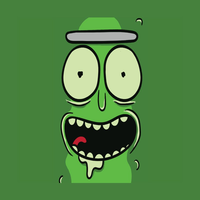 Pickle Rick by ALGS's Artist Shop