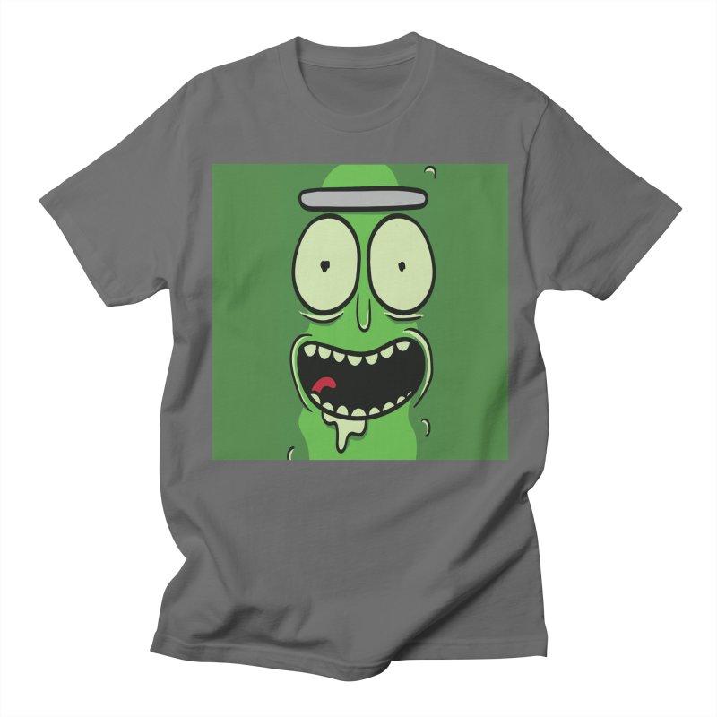 Pickle Rick Men's T-Shirt by ALGS's Artist Shop