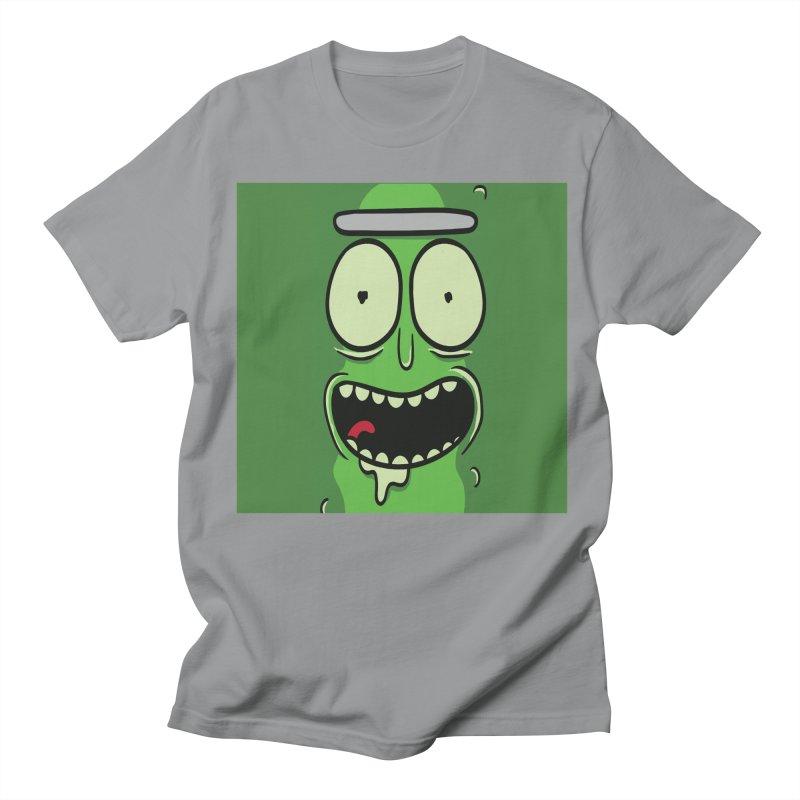 Pickle Rick Women's Regular Unisex T-Shirt by ALGS's Artist Shop