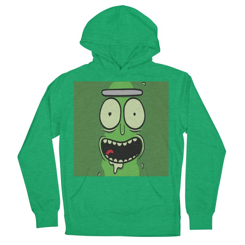 Pickle Rick Women's French Terry Pullover Hoody by ALGS's Artist Shop