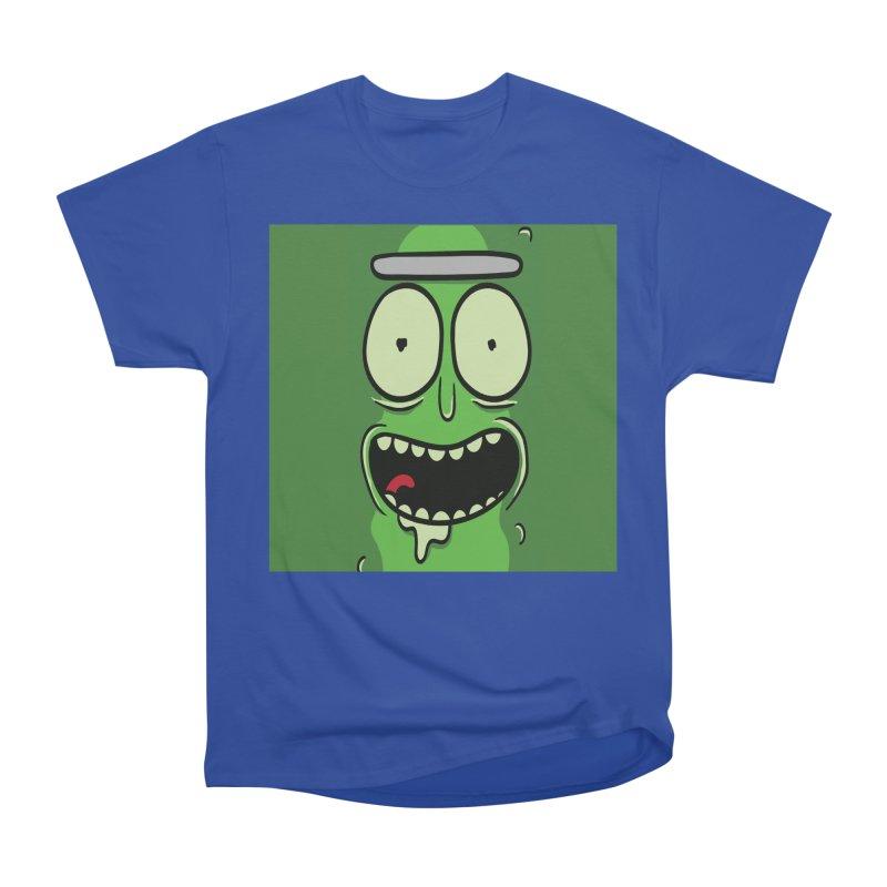 Pickle Rick Men's Heavyweight T-Shirt by ALGS's Artist Shop