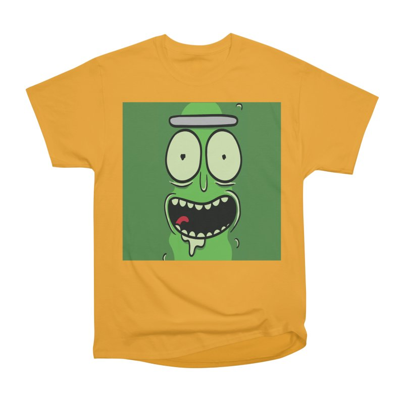 Pickle Rick Men's Heavyweight T-Shirt by ALGS's Artist Shop