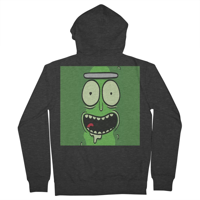Pickle Rick Women's Zip-Up Hoody by ALGS's Artist Shop