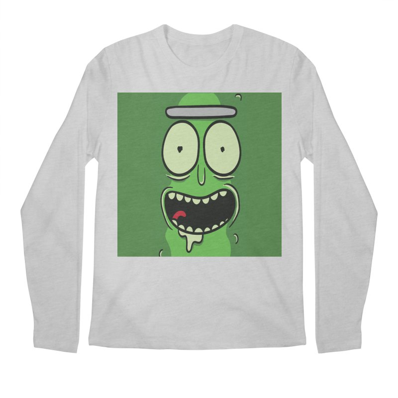 Pickle Rick Men's Regular Longsleeve T-Shirt by ALGS's Artist Shop