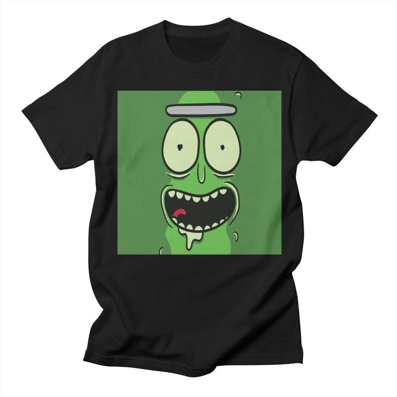 Pickle Rick Men's Regular T-Shirt by ALGS's Artist Shop