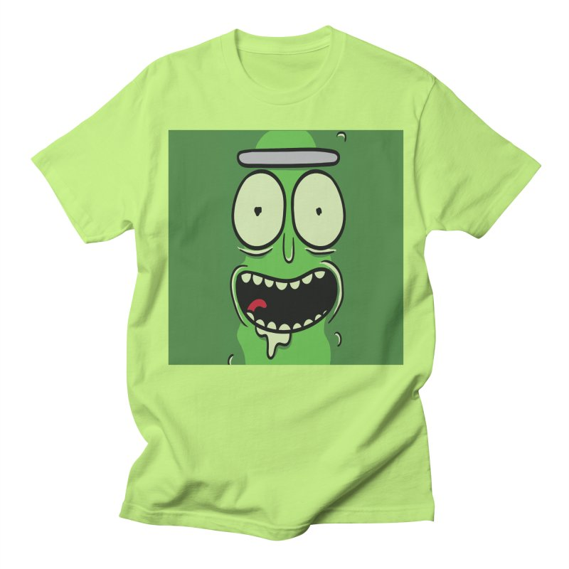 Pickle Rick Men's T-Shirt by ALGS's Artist Shop