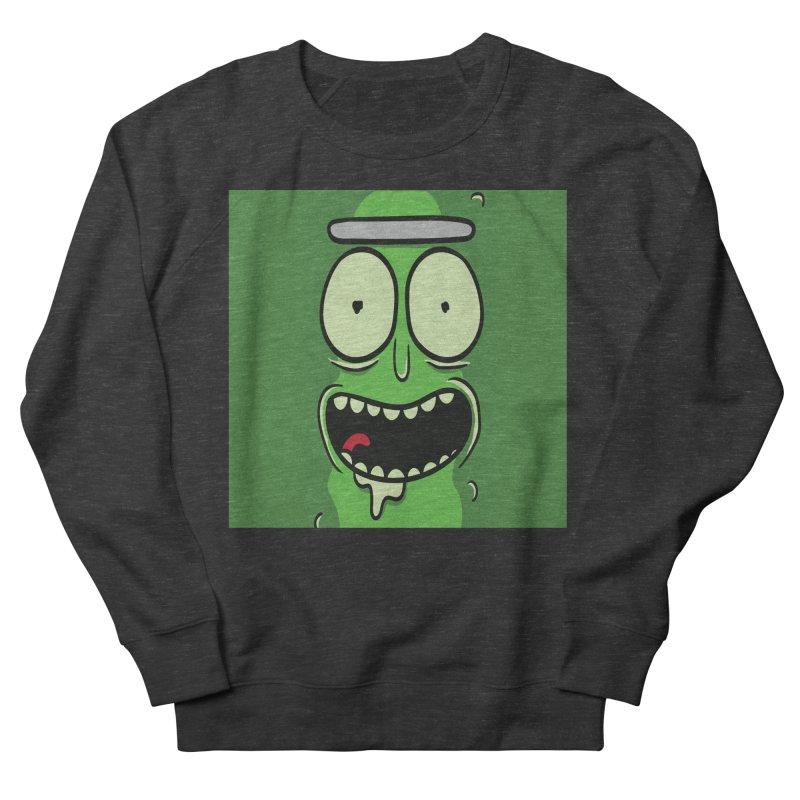 Pickle Rick Women's French Terry Sweatshirt by ALGS's Artist Shop
