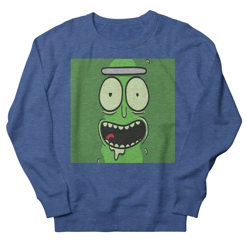 Pickle Rick Women's French Terry Sweatshirt by ALGS's Artist Shop
