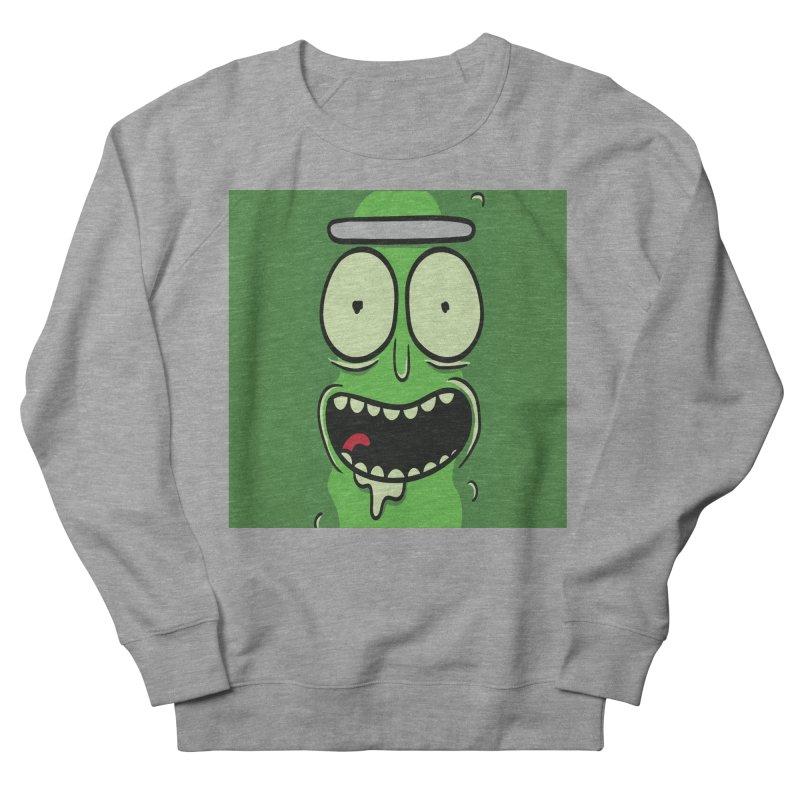 Pickle Rick Men's French Terry Sweatshirt by ALGS's Artist Shop