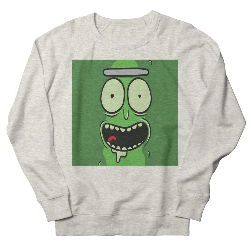 Pickle Rick Men's Sweatshirt by ALGS's Artist Shop