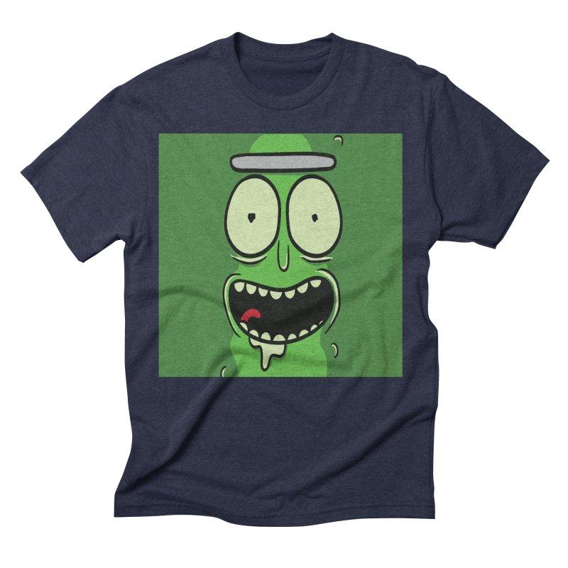 Pickle Rick Men's Triblend T-Shirt by ALGS's Artist Shop