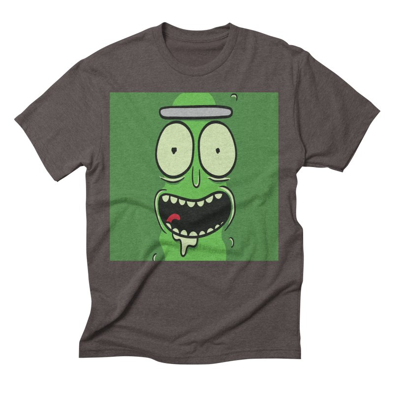 Pickle Rick Men's Triblend T-Shirt by ALGS's Artist Shop