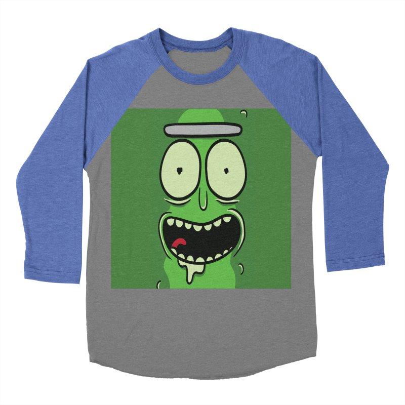 Pickle Rick Women's Baseball Triblend Longsleeve T-Shirt by ALGS's Artist Shop