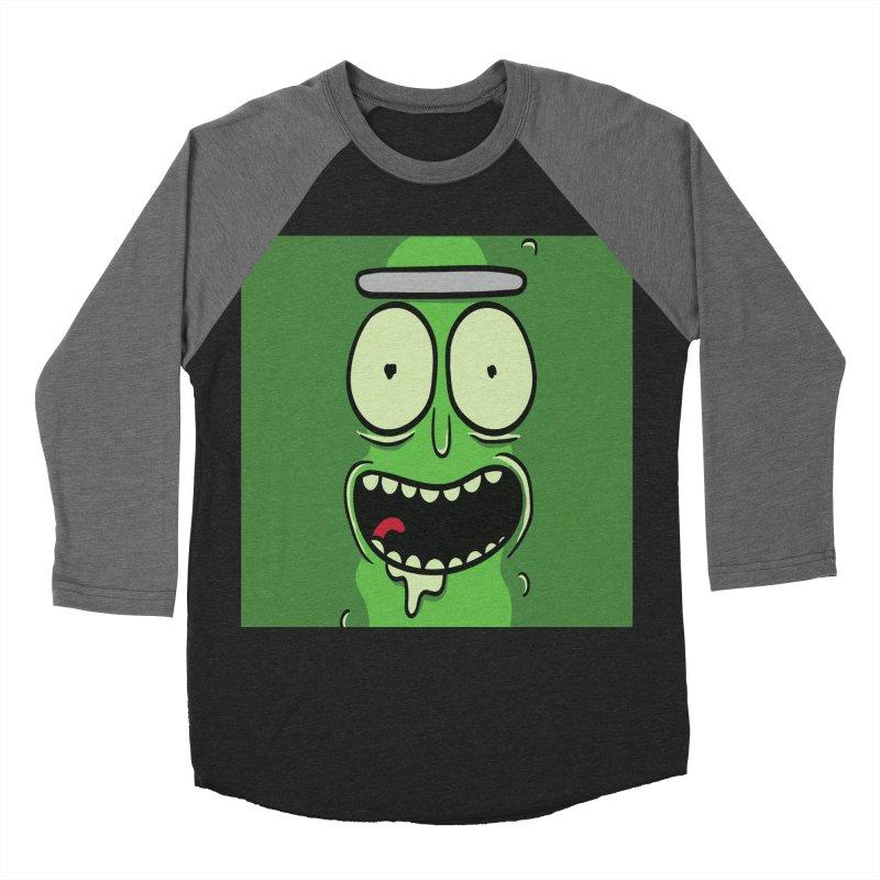 Pickle Rick Men's Baseball Triblend Longsleeve T-Shirt by ALGS's Artist Shop