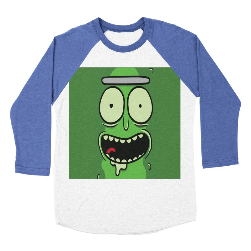 Pickle Rick Men's Baseball Triblend Longsleeve T-Shirt by ALGS's Artist Shop