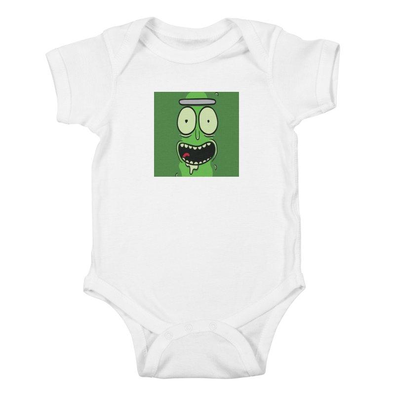 Pickle Rick Kids Baby Bodysuit by ALGS's Artist Shop