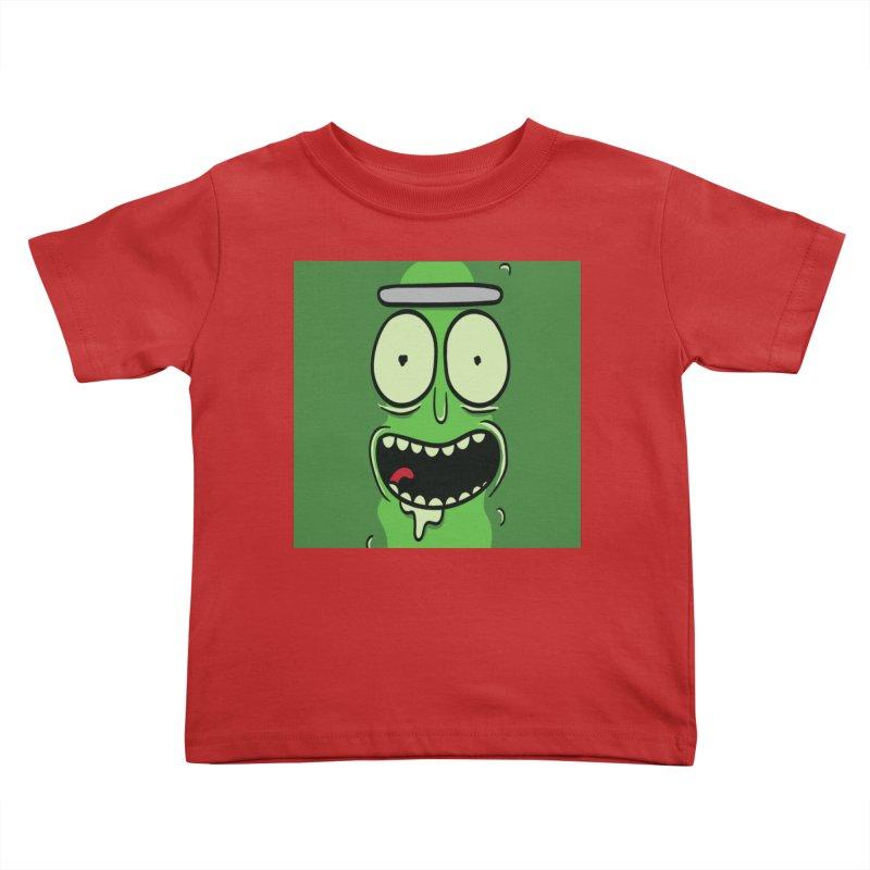 Pickle Rick Kids Toddler T-Shirt by ALGS's Artist Shop