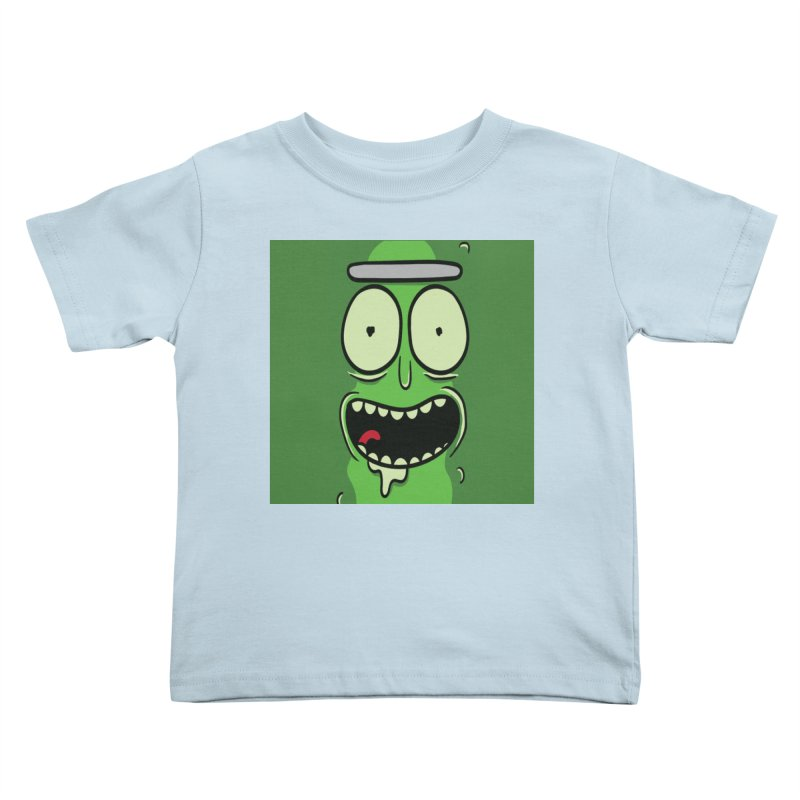 Pickle Rick Kids Toddler T-Shirt by ALGS's Artist Shop