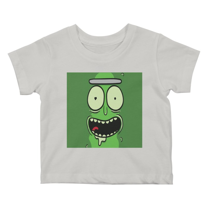 Pickle Rick Kids Baby T-Shirt by ALGS's Artist Shop