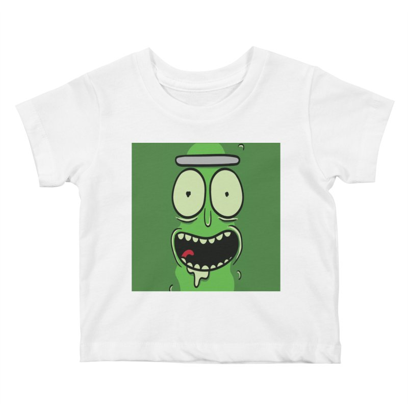Pickle Rick Kids Baby T-Shirt by ALGS's Artist Shop
