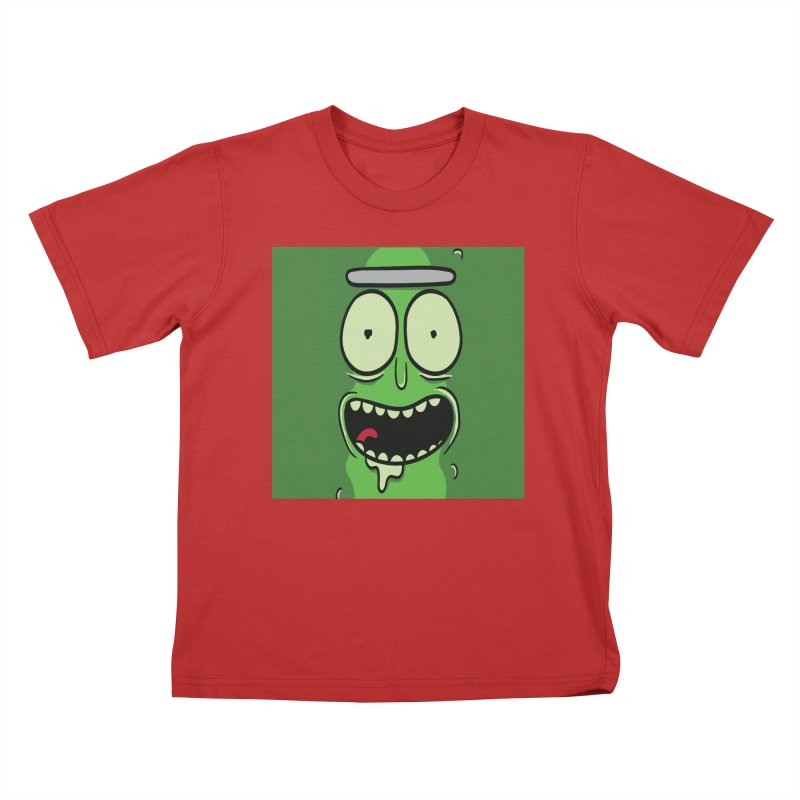 Pickle Rick Kids T-Shirt by ALGS's Artist Shop