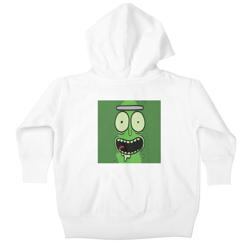 Pickle Rick Kids Baby Zip-Up Hoody by ALGS's Artist Shop