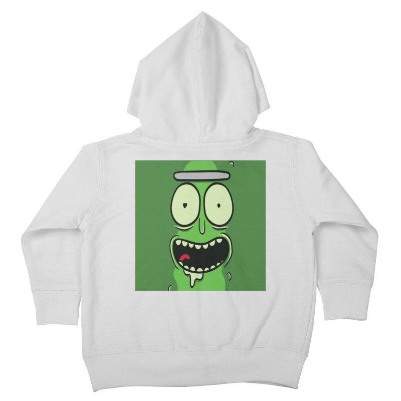 Pickle Rick Kids Toddler Zip-Up Hoody by ALGS's Artist Shop