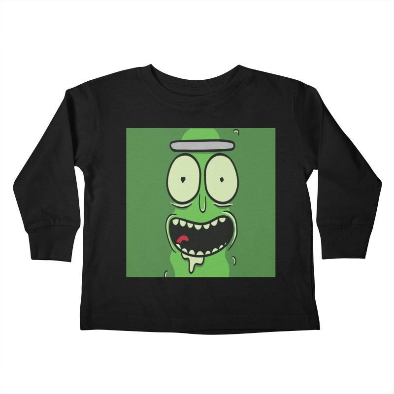 Pickle Rick Kids Toddler Longsleeve T-Shirt by ALGS's Artist Shop