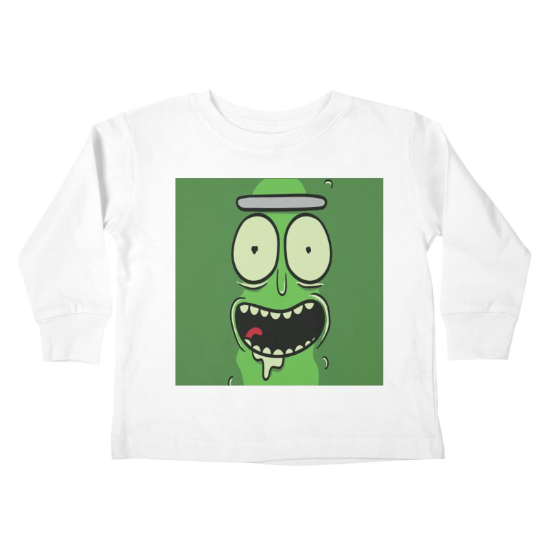 Pickle Rick Kids Toddler Longsleeve T-Shirt by ALGS's Artist Shop