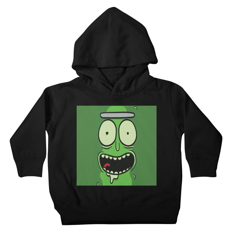 Pickle Rick Kids Toddler Pullover Hoody by ALGS's Artist Shop