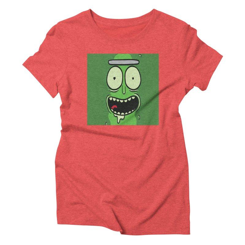 Pickle Rick Women's Triblend T-Shirt by ALGS's Artist Shop