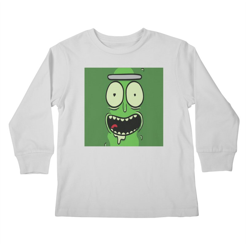 Pickle Rick Kids Longsleeve T-Shirt by ALGS's Artist Shop