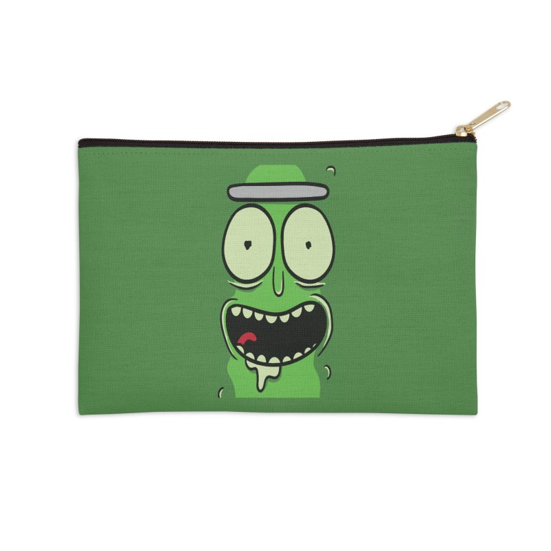 Pickle Rick Accessories Zip Pouch by ALGS's Artist Shop