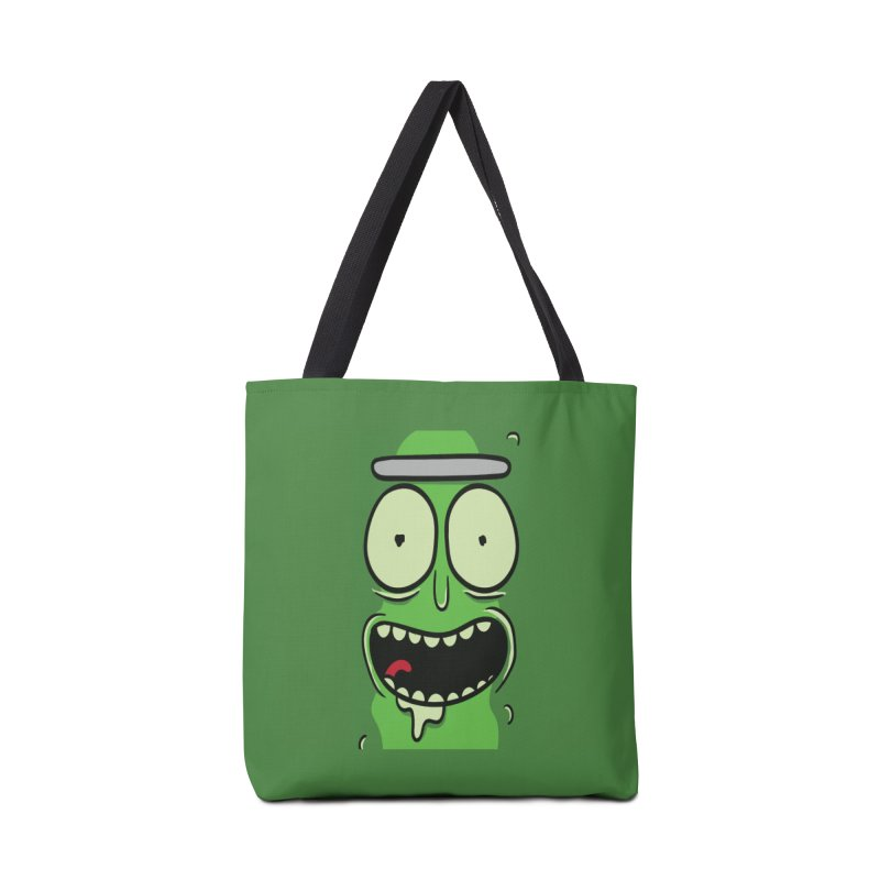Pickle Rick Accessories Bag by ALGS's Artist Shop