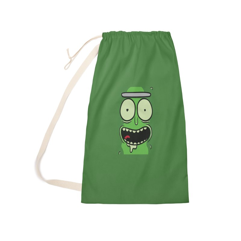 Pickle Rick Accessories Laundry Bag Bag by ALGS's Artist Shop