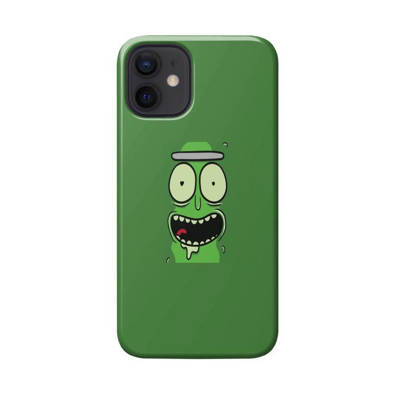 Pickle Rick Accessories Phone Case by ALGS's Artist Shop
