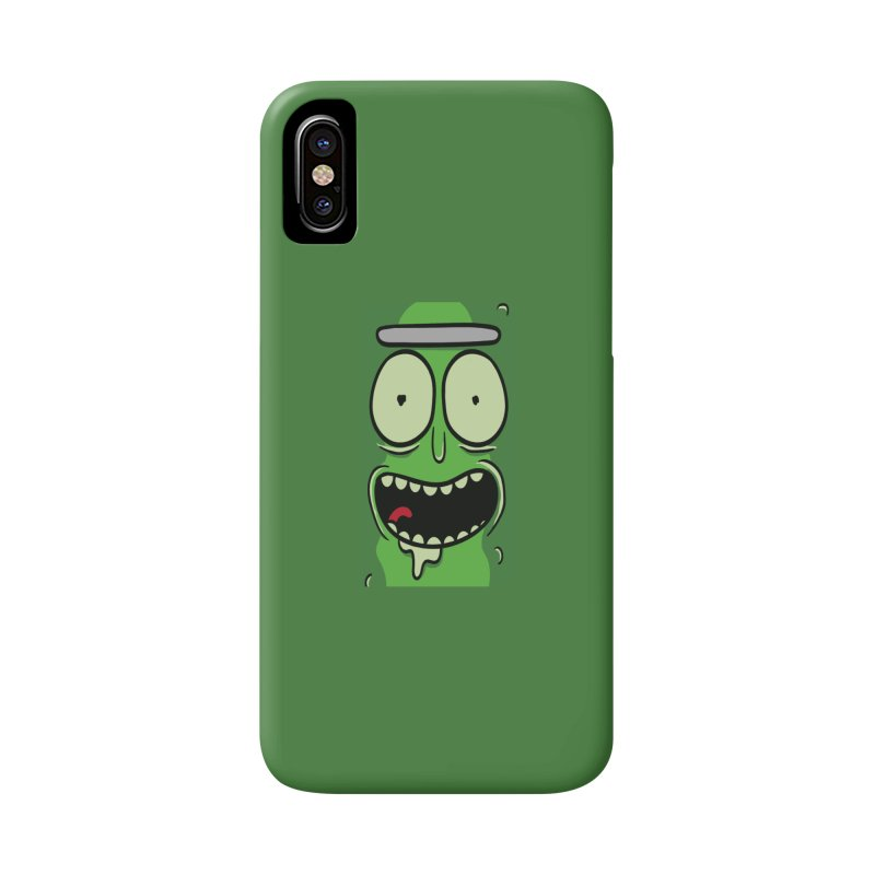 Pickle Rick Accessories Phone Case by ALGS's Artist Shop