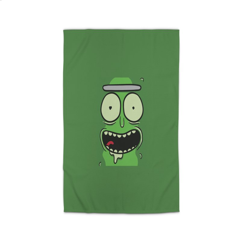 Pickle Rick Home Rug by ALGS's Artist Shop