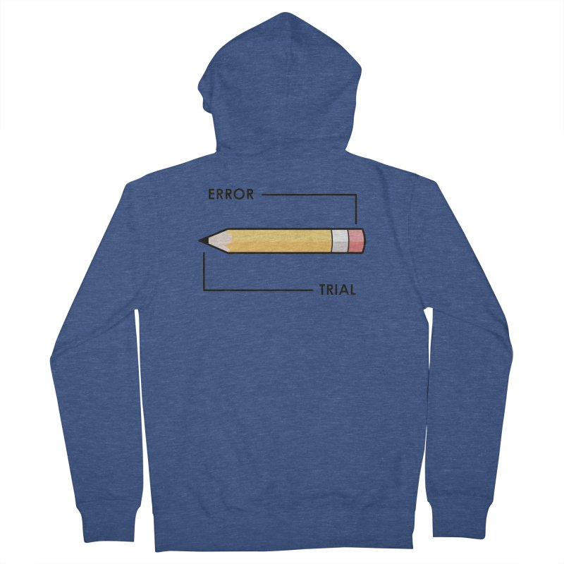 Trial & Error Women's French Terry Zip-Up Hoody by ALGS's Artist Shop