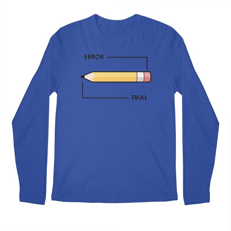 Trial & Error Men's Regular Longsleeve T-Shirt by ALGS's Artist Shop