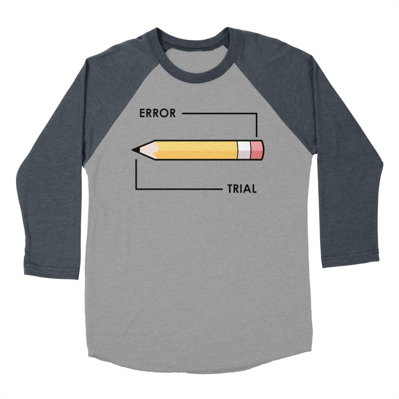 Trial & Error Women's Baseball Triblend Longsleeve T-Shirt by ALGS's Artist Shop