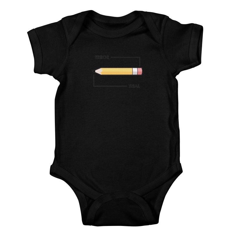 Trial & Error Kids Baby Bodysuit by ALGS's Artist Shop