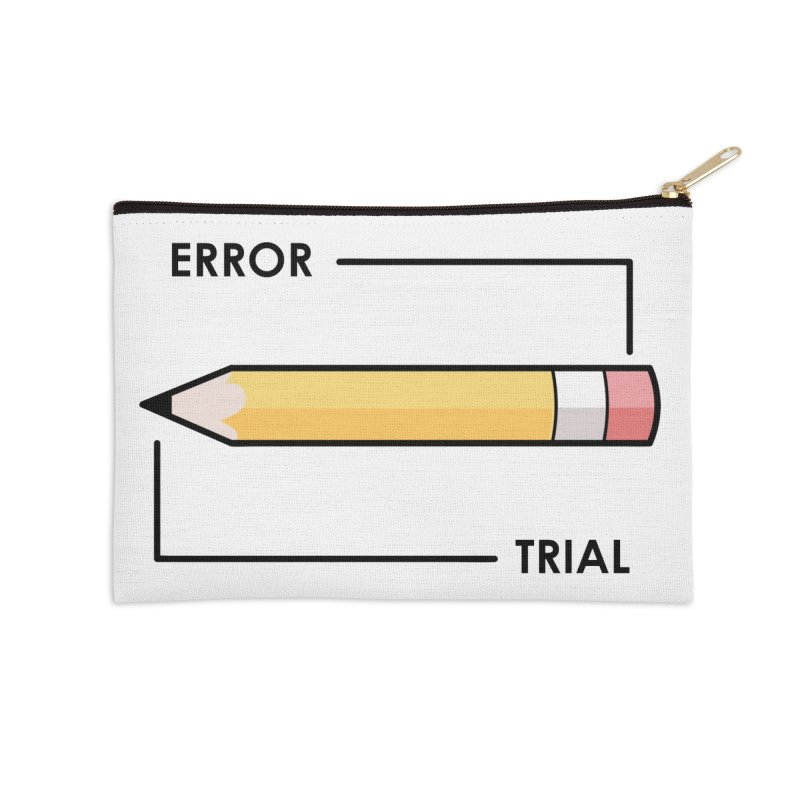 Trial & Error Accessories Zip Pouch by ALGS's Artist Shop