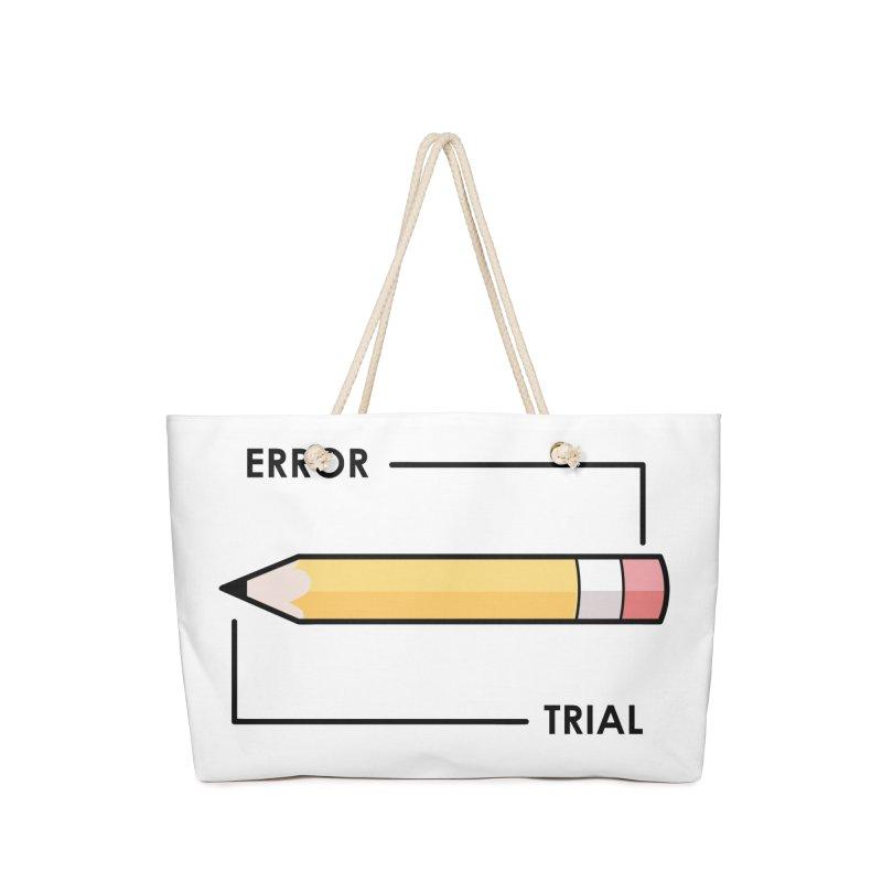 Trial & Error Accessories Bag by ALGS's Artist Shop