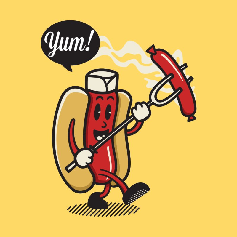 Hot Sausage! Men's Tank by ALGS's Artist Shop