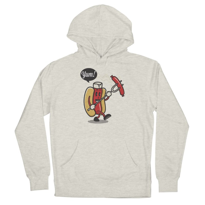 Hot Sausage! Women's French Terry Pullover Hoody by ALGS's Artist Shop