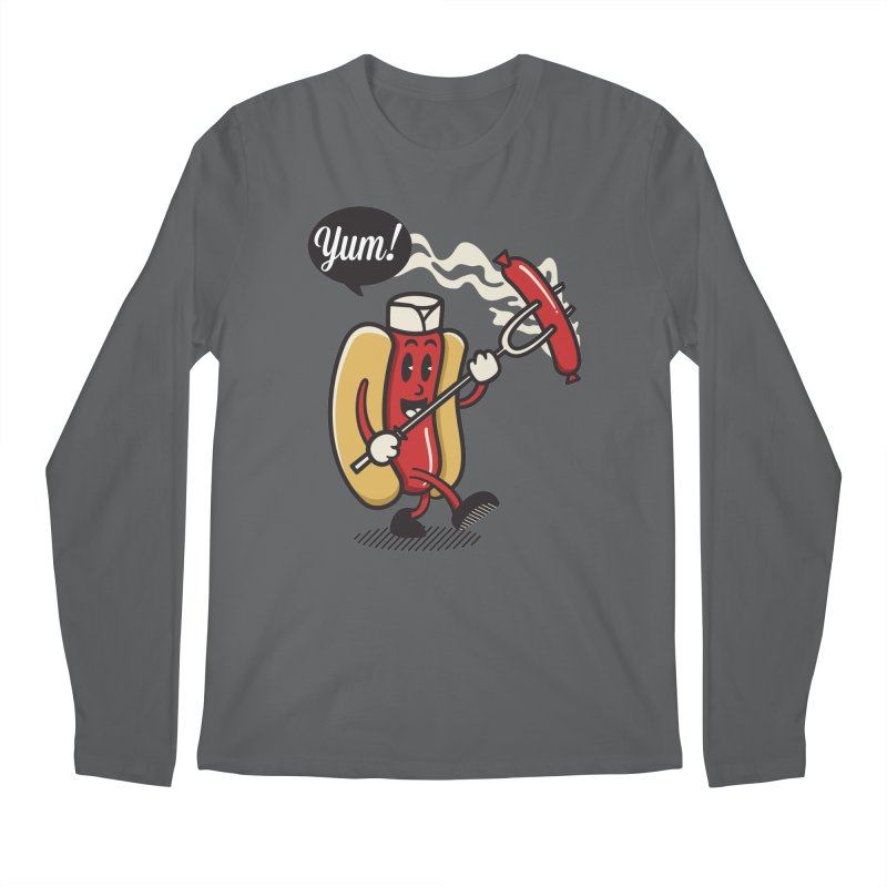 Hot Sausage! Men's Longsleeve T-Shirt by ALGS's Artist Shop